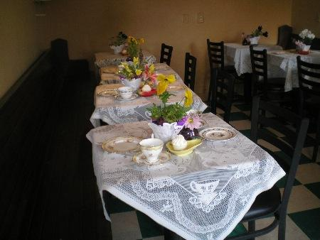 Charity Tea For Madonna's Center May 2011